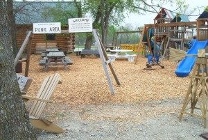 Keim picnic play area