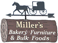 Milleru0027s Amish Furniture, Bakery U0026 Bulk Foods