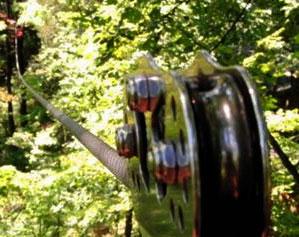 camp kern ziplining
