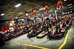 high voltage indoor karting in medina ohio
