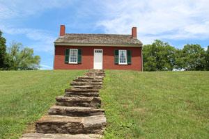 John Rankin House in Ripley Ohio