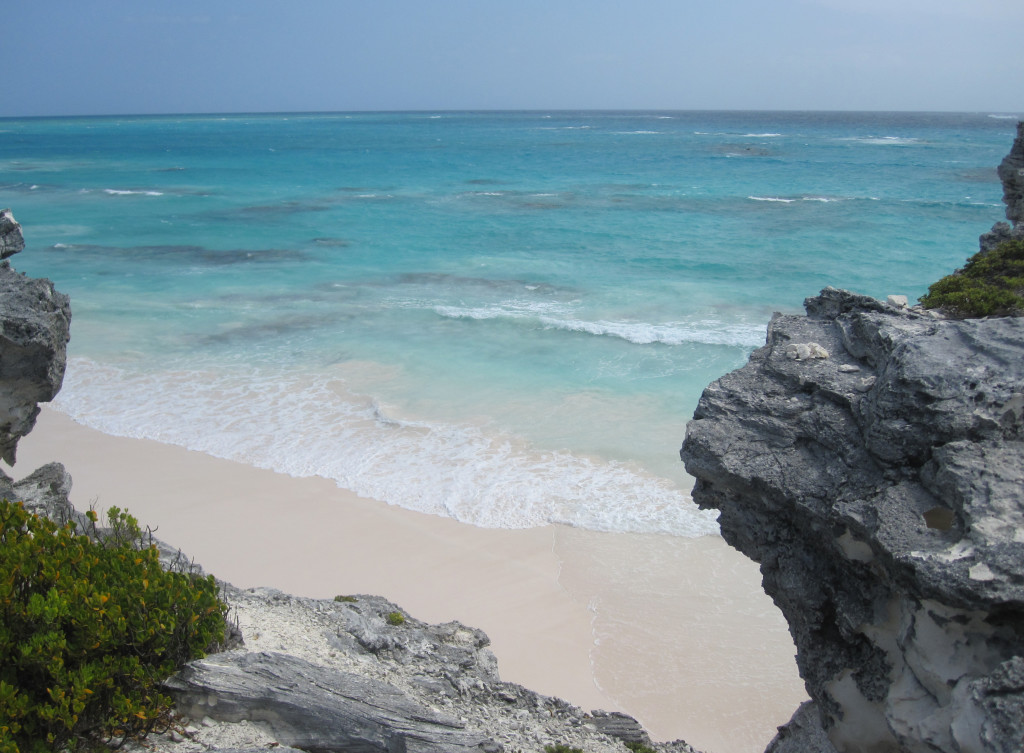 carribean beach horizon