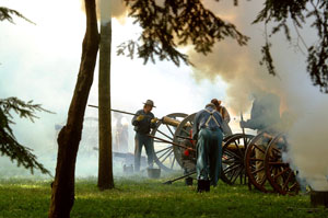 Hayes Civil War Reenactment