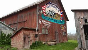 ohio barn painting by Scott Hagan