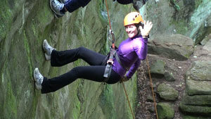 rappelling-hocking-hills